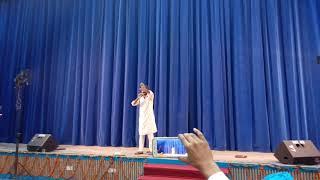 Funny Shaktimaan Song by Bai Tara at GTB Hall Punjabi University Patiala
