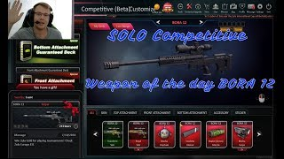 Zula - Bora 12 weapon of the day SOLO competitive + commentary #ep04