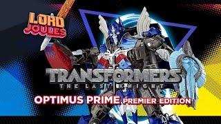 Transformers The Last Knight Optimus Prime Premier Edition en español