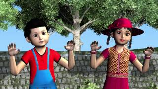 TWO LITTLE DICKY BIRDS | Rhymes for Kids | Animated Video Song
