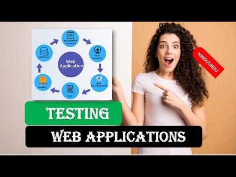 Testing Web Applications in HINDI