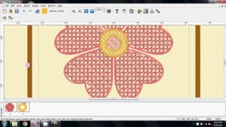 Part 1 - Creating FSL (Free Standing Lace) with the Singer Futura Autopunch Software