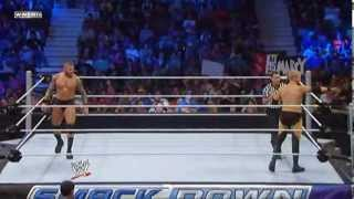 Randy Orton vs Christian WWE Friday Night Smackdown 2013 07 05