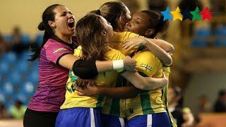 Semi Final Women BRAZIL vs PORTUGAL -  5th World University Futsal Championship 2016 - Goiânia