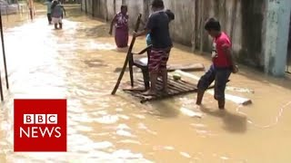 Sri Lanka floods: Residents afraid as more rain forecast - BBC News