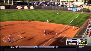 Tennessee Softball: #11 UT vs #1 LSU - Game 2 Highlights