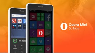 Introducing the new Opera Mini for Windows Phone