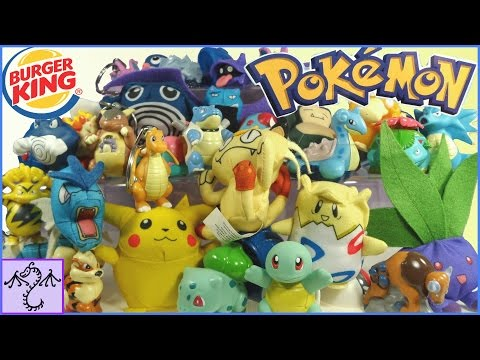 1999 Burger King Pokemon Toy Collection & Review