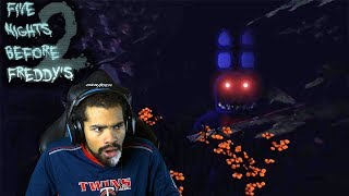 BONNIE IS STALKING ME FROM THE BUSHES!! | Five Nights Before Freddy's 2 [Nights 1 & 2]