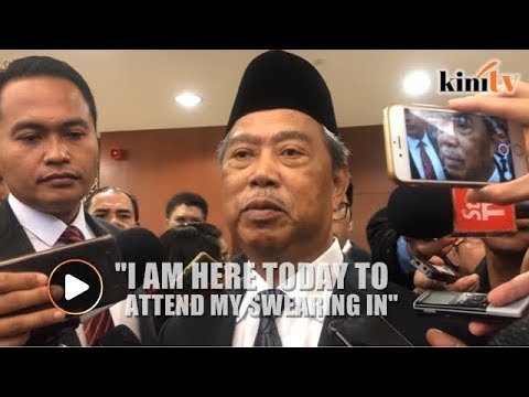 Xxx Mp4 Muhyiddin I Am Here To Attend My Swearing In As MP 3gp Sex