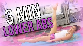 3 Minute LOWER ABS | POP Pilates Turbo