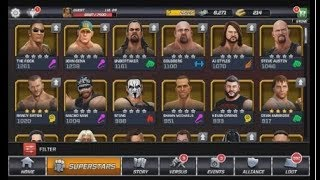 WWE Mayhem Unlocked All Superstars without uninstall game A To Z  Steps || Must Watch