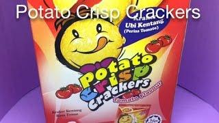 Potato Crisp Crackers