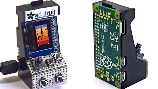 World's Smallest MAME Arcade Cabinet @adafruit #adafruit @raspberry_pi