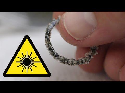 Can a Laser Melt Sand