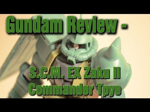 Xxx Mp4 Gundam Review S C M EX Zaku II Commander Type 3gp Sex