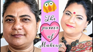 The Power Of Makeup || Indian Mature Skin || Ishita Chanda