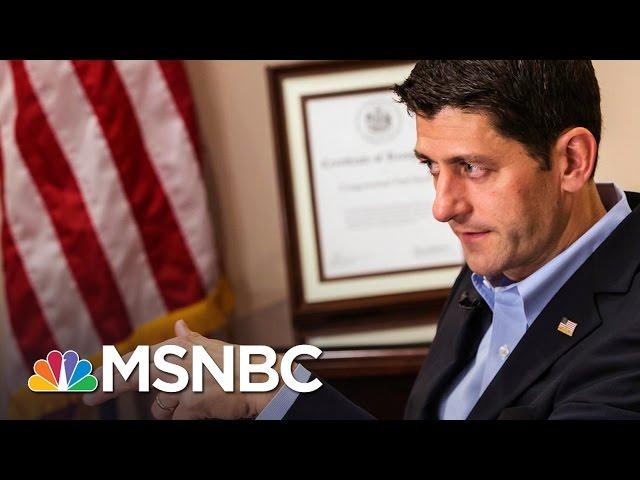 Trump Plugs Fox Show Hours Before Host Calls On Paul Ryan to Resign | AM Joy| MSNBC |