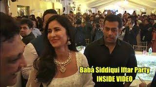 Salman Khan, Katrina, Shahrukh INSIDE VIDEO | Baba Siddiqui Iftar Party | COMPLETE VIDEO