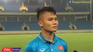 Đội tuyển U23 Việt Nam tập luyện ngày thứ hai 27/7