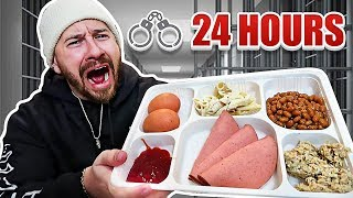 I Only Ate Prison Foods For 24 Hours!!
