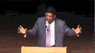 Dr Dinesh D'Souza POWNS atheist Hitchens (Presuppositional Apologetics)