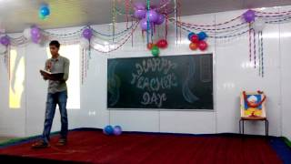 teachers day  poetry by anshuman