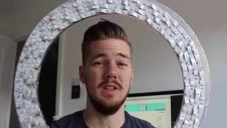DIY LED Ring Light Under £20