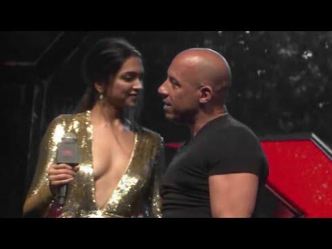 Xxx Mp4 FUB Sexy VIN DIESEL And Hot DIPIKA PADUKON XXX Return Of Xander Cage India Tour Fun Moments 3gp Sex