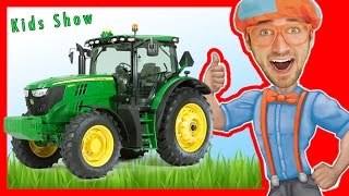 Learn the Alphabet with Blippi | Learn letters for Toddlers  | Letters and Toys with Blippi
