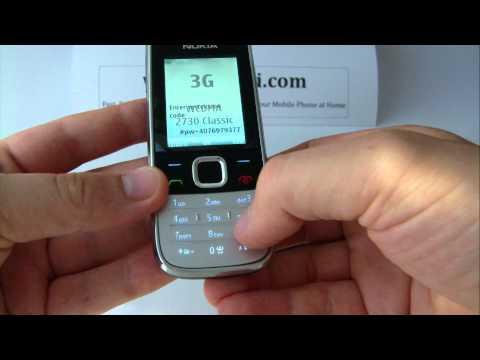 Nokia 2730 Classic Unlock & input / enter code
