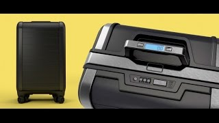 Smart Suitcase Bag  Zipperless GPS Power bank Digital Scale Luggage - Trunkster