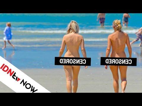 Kalau Kamu Pergi ke Pantai Ini, Kamu Wajib Telanjang Lho!   IDNtv NOW