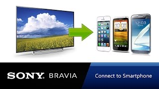 How to connect your Sony Bravia to mobile
