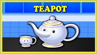 I Am A Little Teapot--Nursery Rhymes--Kindergarten Songs--Bed Time Songs