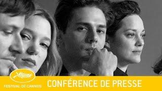 JUSTE LA FIN DU MONDE - Conférence de Presse - VF - Cannes 2016