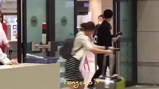 [FANCAM] 160410 Incheon Airport NCT