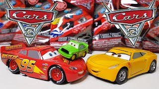 Disney Cars 3 Toys Mini Chick Hicks gets a Big Mini Racers blind bag Surprise