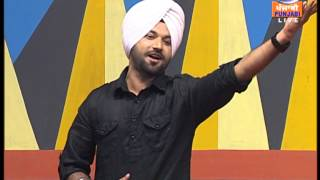 Rb singh live at DD punjabi star nite song virsa lyricks sukhi purewal