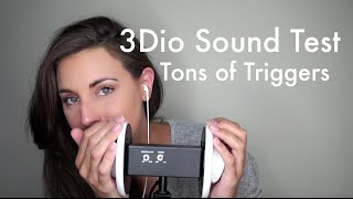 ASMR 3Dio Test - Ear to Ear, Case Tapping, Mouth Sounds, Unintelligible Whispering, MORE
