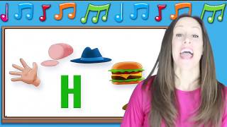 Phonics Songs for Children | Letter Sounds G H I | Signing for Babies ASL | Patty Shukla