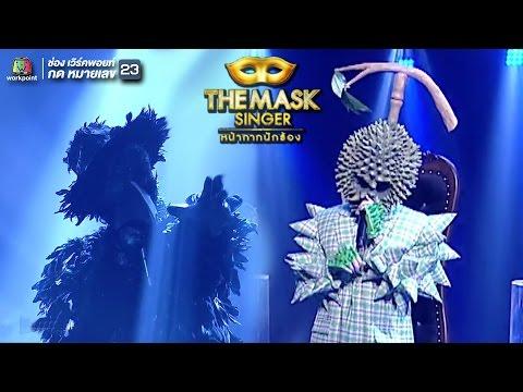 7 Years / Creep - หน้ากากทุเรียน,หน้ากากอีกา | THE MASK SINGER