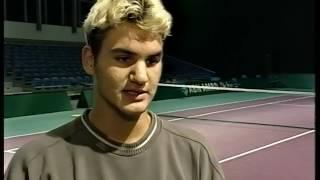 Roger Federer 1999 Interview