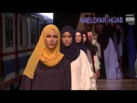 IMFW 2016 - NAELOFAR HIJAB SS16 RUNWAY