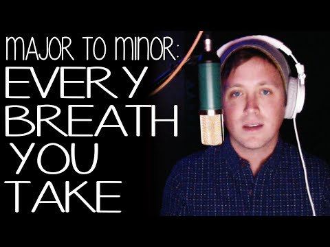 """Every Breath You Take"" by Police (MINOR KEY VERSION)"