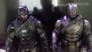 Hot Toys Batman V Superman Armoured Batman Chrome Version 1/6 scale figure