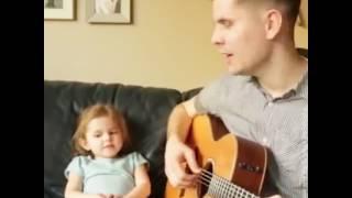 아빠랑 부르는 노래.  클레어랑 아빠랑!