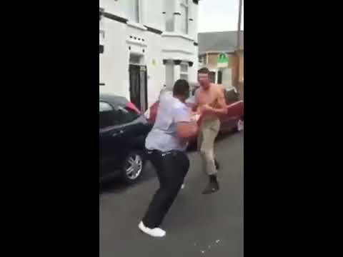 Xxx Mp4 White English Lads Beat Crap Out Of Black Racist Guy Who Had A Gun In Margate In Kent England 3gp Sex