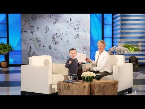 Ellen Meets a 5 Year Old Geography Expert