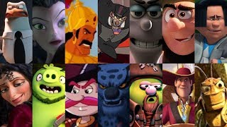 Defeats of My Favorite Animated Movie Villains 2 (Re-Uploaded)